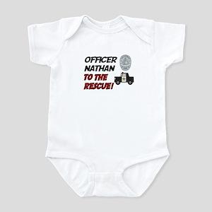 Nathan - Police Rescue Infant Bodysuit