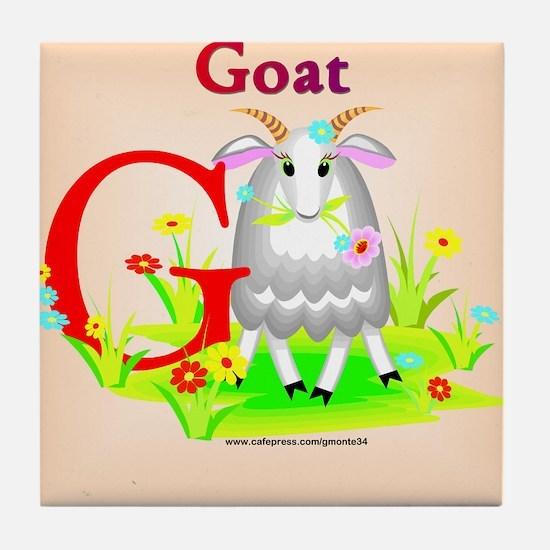 Goat Tile Coaster