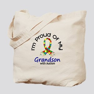 Proud Of My Autistic Grandson 1 Tote Bag