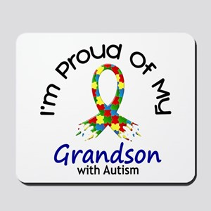 Proud Of My Autistic Grandson 1 Mousepad