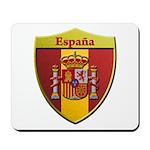 Spain Metallic Shield Mousepad