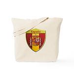 Spain Metallic Shield Tote Bag