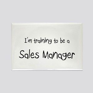 I'm training to be a Sales Manager Rectangle Magne