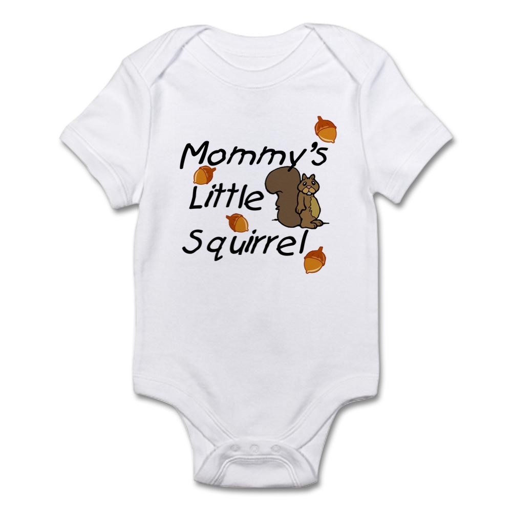 CafePress-Mommy-039-s-Little-Squirrel-Infant-Creeper-Baby-Bodysuit-37416740 thumbnail 7
