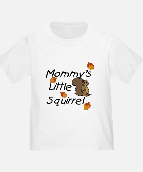 Mommy's Little Squirrel Toddler Tee