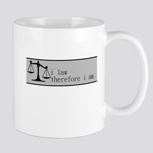 i law therefore i am (banner) Mug