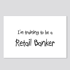I'm training to be a Retail Banker Postcards (Pack