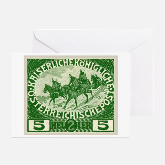 Funny Post stamp Greeting Cards (Pk of 20)