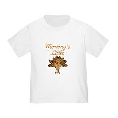 Mommy's Little Turkey Toddler Tee