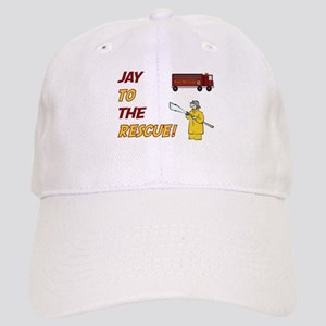 Jay to the Rescue Cap