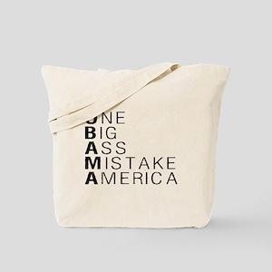 Big Mistake Obama AntiObama Tote Bag