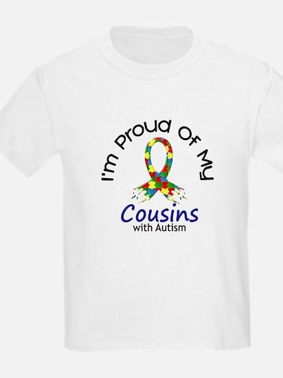 Proud Of My Autistic Cousins 1 T-Shirt