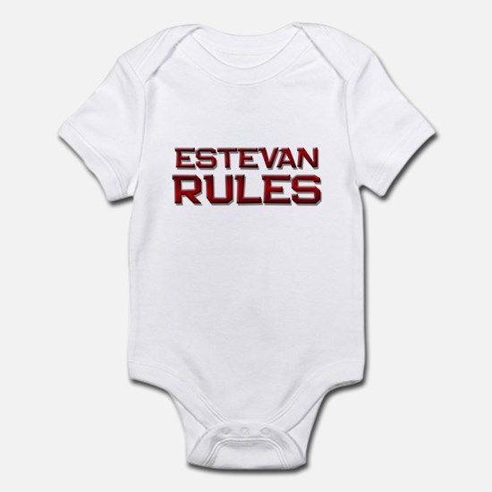 estevan rules Infant Bodysuit