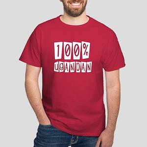 100% Ugandan Dark T-Shirt
