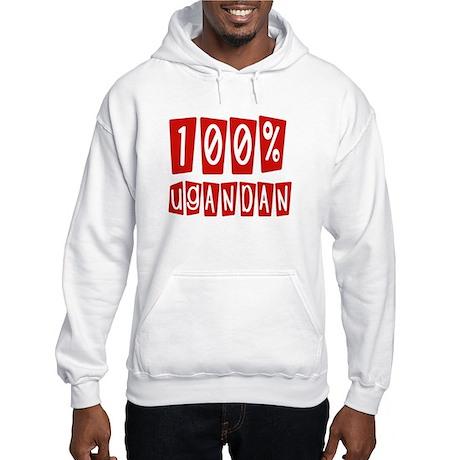 100% Ugandan Hooded Sweatshirt