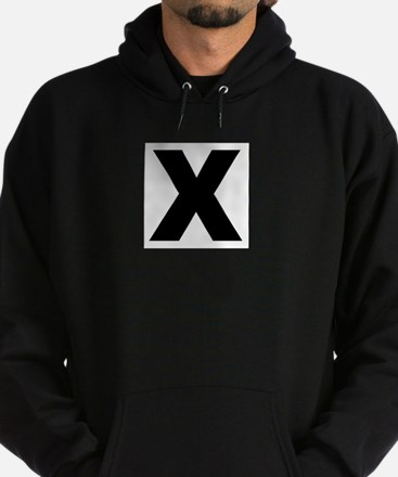Cute Straight edge Hoodie (dark)