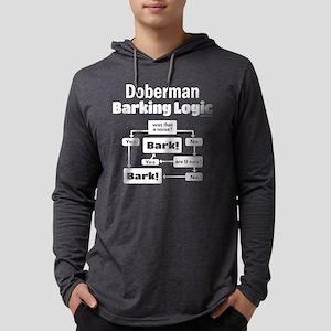 Doberman logic Long Sleeve T-Shirt