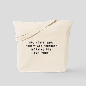Anti Obama Tees Tote Bag