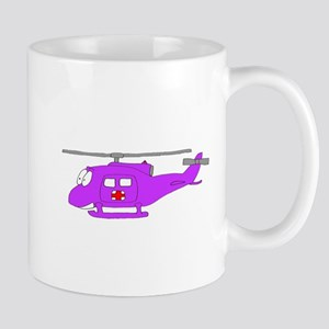 Helicopter UH-1 Purple Mugs