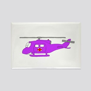 Helicopter UH-1 Purple Magnets