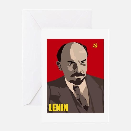 Cool Communist Greeting Card