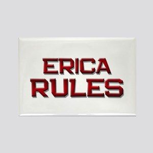 erica rules Rectangle Magnet