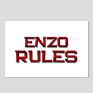 enzo rules Postcards (Package of 8)