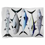 South Pacific Speedy Fishes Pillow Sham