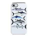 South Pacific Speedy Fishes iPhone 8/7 Tough Case