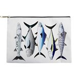 South Pacific Speedy Fishes Makeup Bag