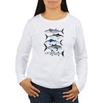 South Pacific Speedy Fishes Long Sleeve T-Shirt