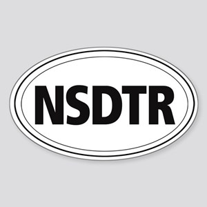 Nova Scotia Duck Tolling Retriever Oval Sticker