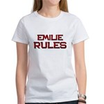 emilie rules Women's T-Shirt