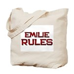 emilie rules Tote Bag