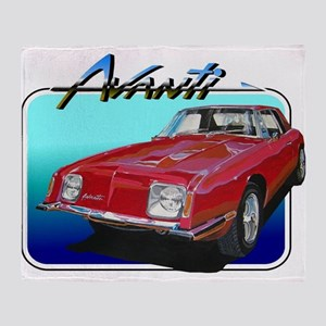 Studebaker Avanti Throw Blanket