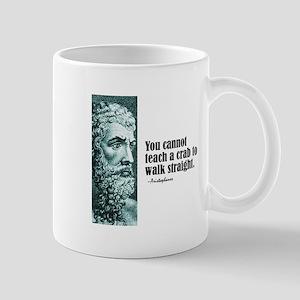 "Aristophanes ""Crab"" Mug"