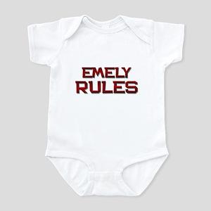 emely rules Infant Bodysuit