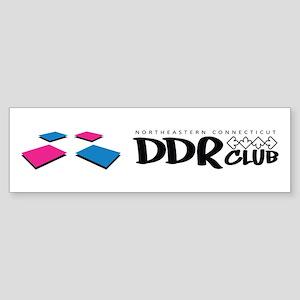 DDR Club Bumper Sticker