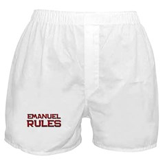 emanuel rules Boxer Shorts