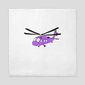 UH-60 Purple Queen Duvet