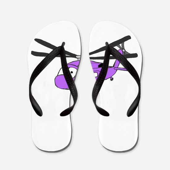 UH-60 Purple.PNG Flip Flops