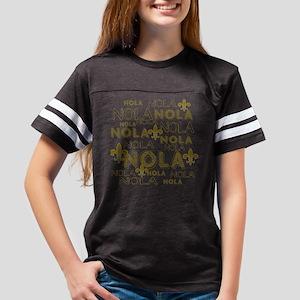 NOLA NOLA NOLA Gold Fleur de Lis T-Shirt