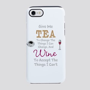 Tea and Wine iPhone 7 Tough Case