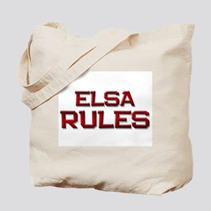 elsa rules Tote Bag