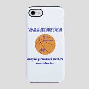Basketball Personalized iPhone 7 Tough Case