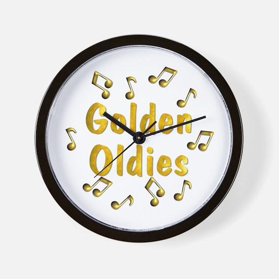 Oldies Music Wall Clock