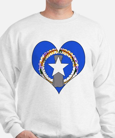 I Love NORTHERN MARIANA Sweatshirt