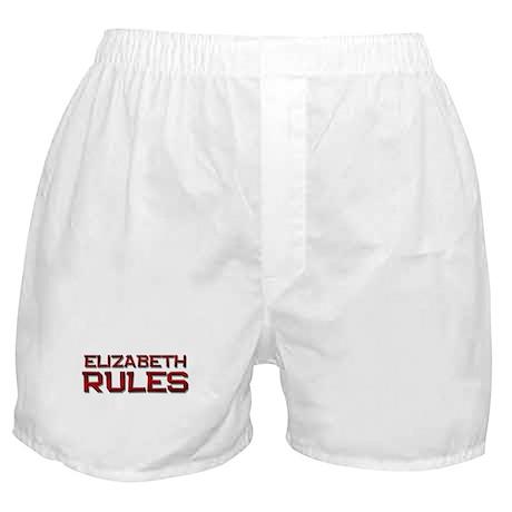elizabeth rules Boxer Shorts
