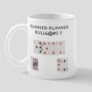 Runner-Runner Bull$%#& Mug