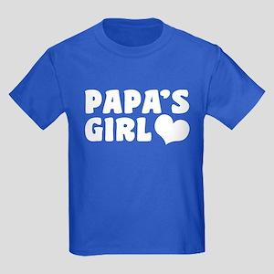 Papa's Girl Kids Dark T-Shirt